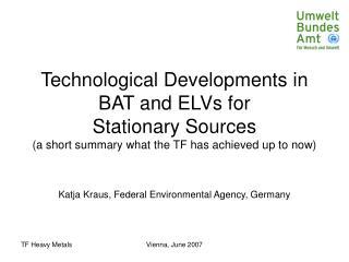 Katja Kraus, Federal Environmental Agency, Germany