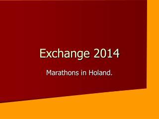 Exchange 2014