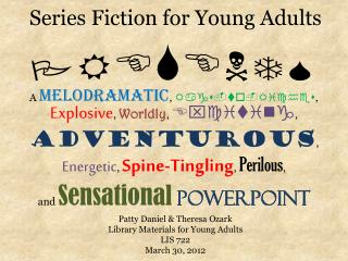 Series Fiction for Young Adults