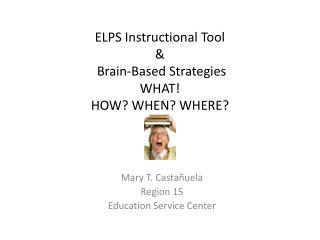 ELPS Instructional Tool  &  Brain-Based Strategies WHAT!  HOW? WHEN? WHERE?