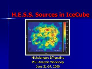 H.E.S.S. Sources in IceCube