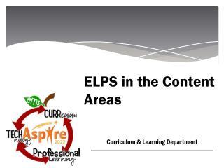 Curriculum &  Learning  Department