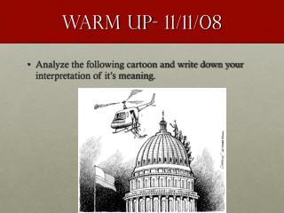Warm Up- 11/11/08