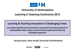 Learning & Teaching Innovation in Challenging Times