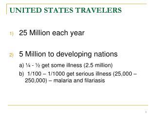 UNITED STATES TRAVELERS