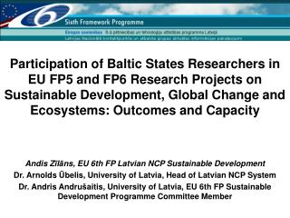 Why is EU Sustainable Development Research Important?