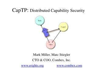 CapTP:  Distributed Capability Security
