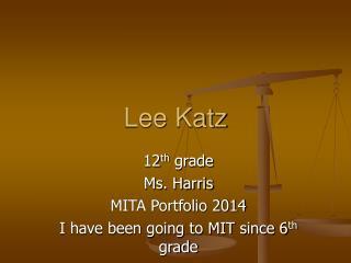 Lee Katz