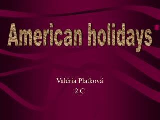 Val�ria Platkov� 2.C