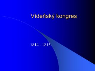 Vídeňský kongres