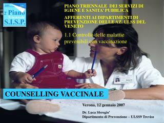 COUNSELLING VACCINALE