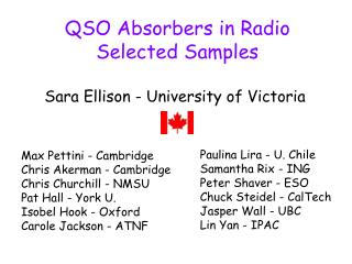 QSO Absorbers in Radio        Selected Samples