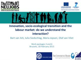 Innovation, socio-ecological transition and the  labour  market: do we understand the interaction?