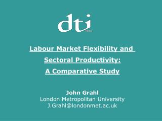 Labour Market Flexibility and  Sectoral Productivity: A Comparative Study