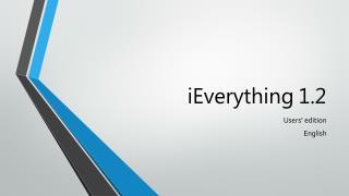 iEverything 1.2