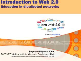 Introduction to Web 2.0 Education in distributed networks