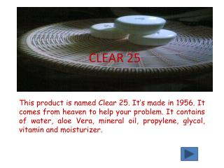 CLEAR 25