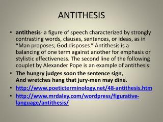 antithesis ascend austere