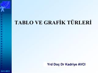 TABLO VE GRAFİK TÜRLERİ