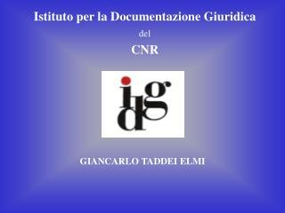 Istituto per la Documentazione Giuridica