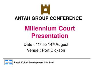ANTAH GROUP CONFERENCE