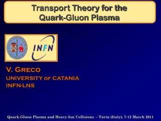 Transport Theory for the  Quark-Gluon Plasma