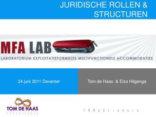 JURIDISCHE ROLLEN & STRUCTUREN