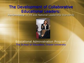 Transformational School Leaders What kind of leader is needed in today's schools?