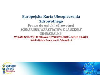 Działania UE na rzecz zdrowia  koncentrują się na: