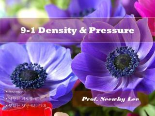 9-1 Density & Pressure