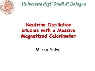 Universit� degli Studi di Bologna