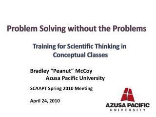 "Bradley ""Peanut""  McCoy Azusa Pacific University"