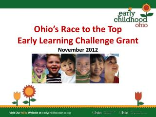 Ohio's Race to the Top Early Learning Challenge Grant November 2012