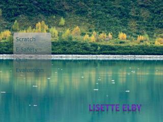 Scratch  E-Safety Quiz Evaluation