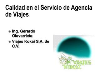 Calidad en el Servicio de Agencia de Viajes