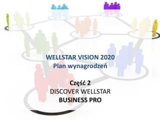 WELLSTAR VISION 2020 Plan wynagrodzeń Część  2 DISCOVER WELLSTAR BUSINESS PRO