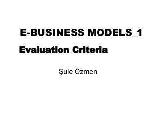 E-BUSINESS MODELS_1