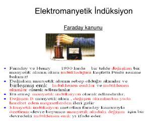Elektromanyetik İndüksiyon