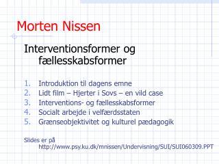 Morten Nissen