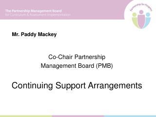 Mr. Paddy Mackey
