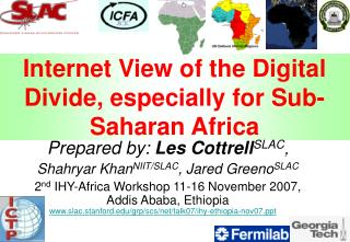Internet View of the Digital Divide, especially for Sub-Saharan Africa