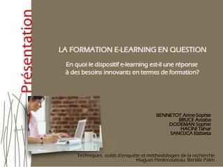 Techniques, outils d'enquête et méthodologies de la recherche Hugues Pentecouteau, Bertille Patin