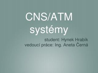 CNS/ATM systémy