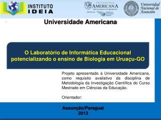 O Laboratório de Informática Educacional potencializando o ensino de Biologia em Uruaçu-GO