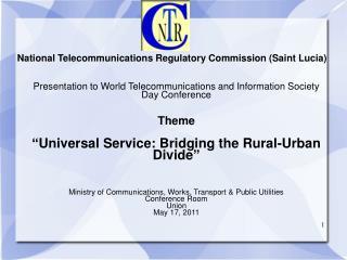 National Telecommunications Regulatory Commission Saint Lucia