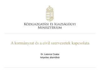 A kormányzat és a civil szervezetek kapcsolata