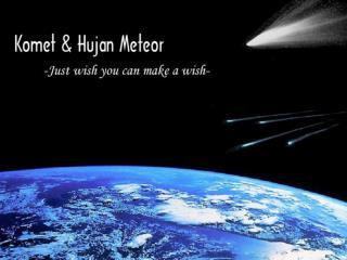 Bintang jatuh (meteor)