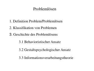 1. Definition Problem