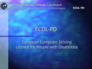 ECDL-PD