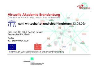 Priv.-Doz. Dr. habil. Konrad Berger  Fraunhofer IPK, Berlin